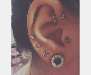 helix, lobe, and piercing image