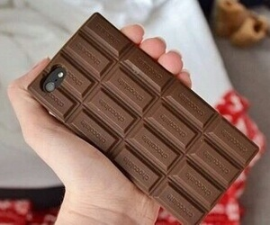 chocolate, iphone, and cool image