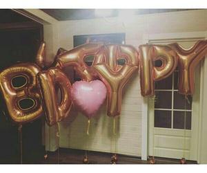 balloons and birthday image