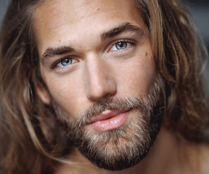ben dahlhaus, beard, and model image
