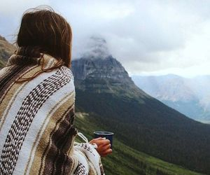 mountains, coffee, and nature image