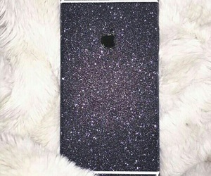 glitter, iphone, and luxury image
