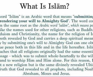 is, peace, and islam image
