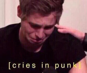 cry and 5sos image