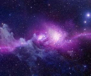 beauty, galaxy, and purple image