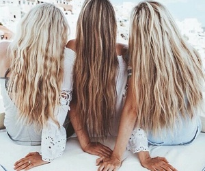 blondes, hair, and girls image