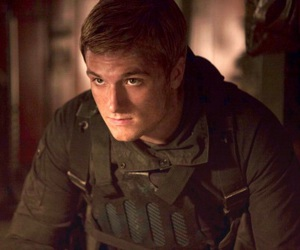 peeta mellark, josh hutcherson, and mockingjay image