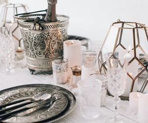 beautiful, candles, and decoration image