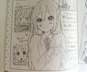anime, drawing, and k-on image