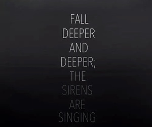 sleeping with sirens, fall, and quotes image