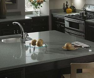 butcher block countertops, marble countertops, and formica countertops image