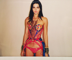 kendall jenner, model, and Victoria's Secret image