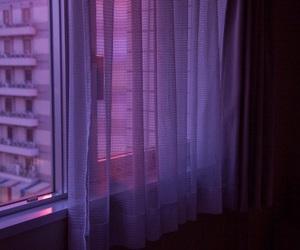 purple, grunge, and window image