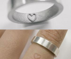 heart, love, and ring image