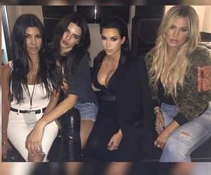 kardashian and kendall jenner image