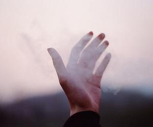 hand, smoke, and indie image