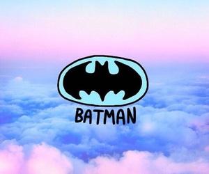 batman, sky, and blue image