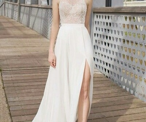 dress, pale, and cute image