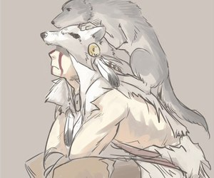 Assassins Creed, fan art, and wolf image