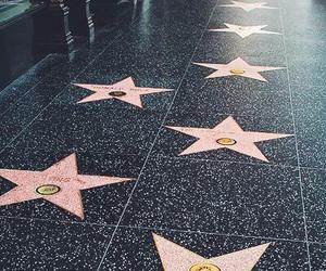 hollywood, stars, and california image