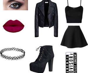 outfits, Polyvore, and wattpad image