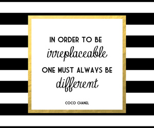 coco chanel, quotes, and different image