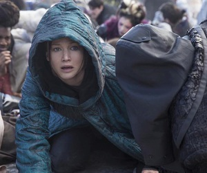 the hunger games, Jennifer Lawrence, and katniss image