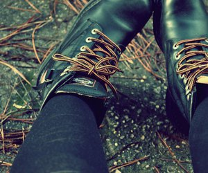 autumn, boot, and harley davidson image