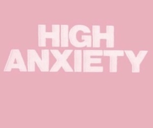 pink, anxiety, and pale image