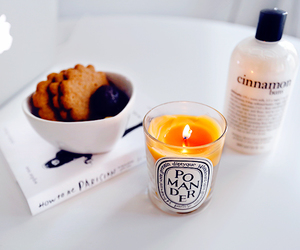 candle and Cookies image