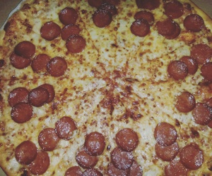 bff, pizza, and mylove  image