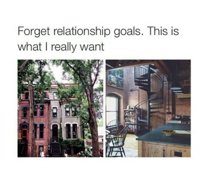 goals, apartment, and house image