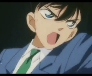 ♥, shinichi, and anime - detektiv conan image