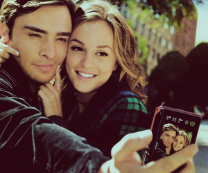 blair waldorf, chuck bass, and fashion image