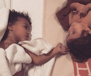 adorable, kanye west, and mommy image