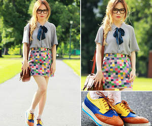 asian, bow, and colorful image