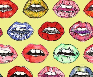 lips, wallpaper, and background image