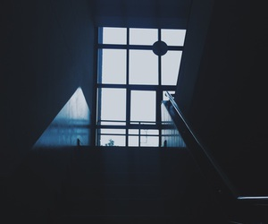 blue, window, and Darkness image