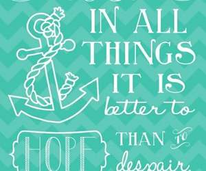 hope, quote, and inspiration image
