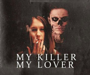 violet, american horror story, and my killer my lover image