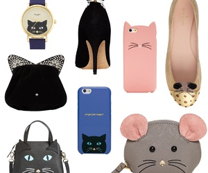 accessories, cat, and heels image