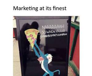 pizza, funny, and food image