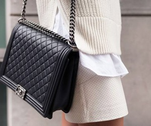 bag, beautiful, and chanel image
