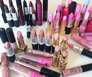 lipstick and pink image