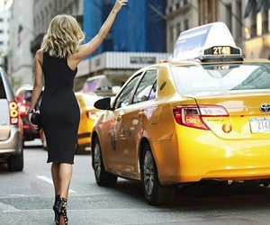 clothes and taxi image