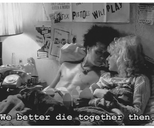 b&w, die, and love kills image
