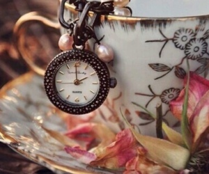 clock and cup image