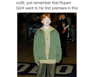 harry potter, funny, and rupert grint image