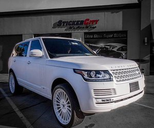 cars, range rover, and want image