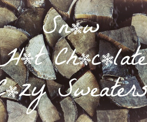 background, chocolate, and logs image
